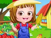Baby Hazel Farmer Dressup